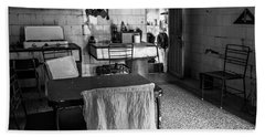 Beach Towel featuring the photograph Josie's Kitchen Havana Cuba by Joan Carroll