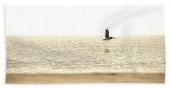 Journey At Daybreak Beach Towel