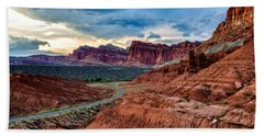 Journey Through Capitol Reef Beach Towel