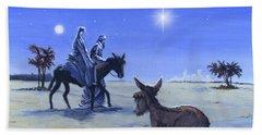 Journey To Bethlehem Beach Towel