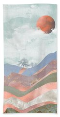 Journey To The Clouds Beach Towel by Katherine Smit