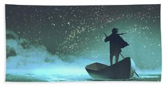 Journey To The New World Beach Towel