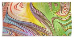 Joyful Flow Beach Towel