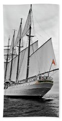 Juan Sebastian De Elcano In Its World Wild Travel Beach Sheet