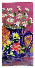 Jug Of Daisies Beach Sheet