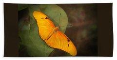 Julia Dryas Butterfly-2 Beach Sheet