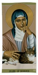 Julian Of Norwich - Rljon Beach Towel