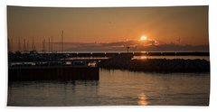 July Sunrise Beach Sheet by James Meyer