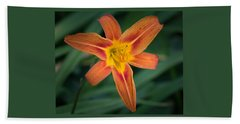 July Tiger Lily Beach Towel