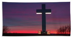 Jumonville Cross  Beach Towel