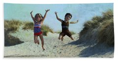 Jump For Joy Beach Towel
