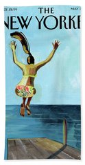Jump Beach Towel