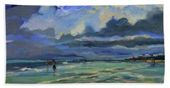 June Afternoon Tidepool Beach Towel