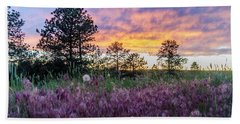 June Color At The Rimrocks Beach Towel