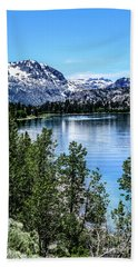 June Lake Portrait Beach Towel