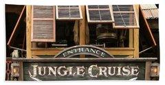 Jungle Cruise - Disneyland Beach Towel