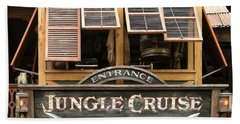 Jungle Cruise - Disneyland Beach Sheet