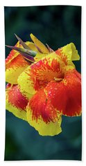 Jungle Flowers Beach Towel