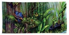 Jungle Talk Beach Sheet