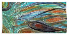 Jupiter Explored - An Abstract Interpretation Of The Giant Planet Beach Towel
