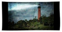 Jupiter Lighthouse-2a Beach Sheet