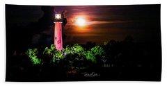 Jupiter Lighthouse Beach Sheet