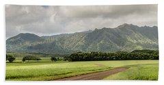 Jurassic Kahili Ranch Panorama Beach Sheet