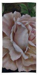 Just A Rose Beach Towel by Katia Aho