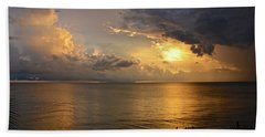 Just Another Spectacular Florida Summer Sunset Beach Towel