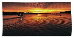 Just Before Sunrise Beach Towel
