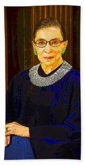 Justice Ginsburg Beach Sheet