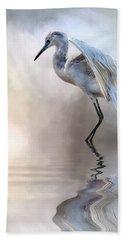 Juvenile Heron Beach Towel