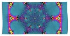 Jyoti Ahau 183 Beach Towel by Robert Thalmeier