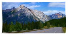 Kananaskis Country Beach Sheet by Heather Vopni