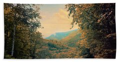 Beach Towel featuring the photograph Kaaterskill Clove by John Rivera