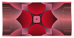 Beach Towel featuring the digital art Kal - 36c77 by Variance Collections