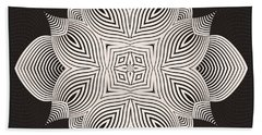 Beach Sheet featuring the digital art Kal - 71c89 by Variance Collections