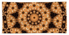 Beach Towel featuring the digital art Kaleidoscope 131 by Ron Bissett