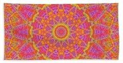 Kaleidoscopic Volpiana 1  Beach Towel