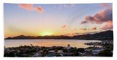 Kaneohe Bay Sunrise 1 Beach Sheet