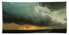 Kansas Storm Chase Bust Day 004 Beach Sheet