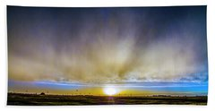 Kansas Storm Chase Bust Day 005 Beach Towel