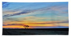Kansas Sunrise1 Beach Towel