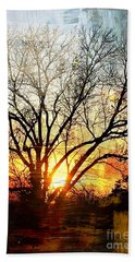 Kansas Sunset Beach Towel