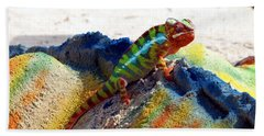 Karma Kameleon  Beach Towel