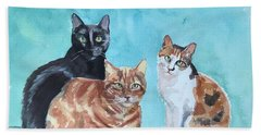 Kates's Cats Beach Towel