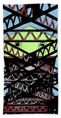 Katy Trail Bridge Beach Towel