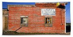 Katy's Wildlife Sanctuary Landmark Bar Building, Bar Beach Sheet by Wernher Krutein