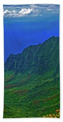 Kauai  Napali Coast State Wilderness Park Beach Towel