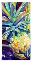 Kauai Pineapple 4 Beach Towel